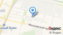 20 отряд государственной противопожарной службы по Архангельской области на карте