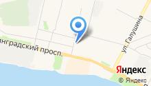 Северный бекон на карте
