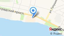 Clasna на карте