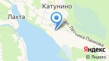 Катунино на карте