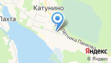 Катунинская начальная общеобразовательная школа на карте