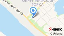 Деком-1 на карте