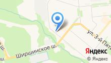 Почтовое отделение связи №1 на карте