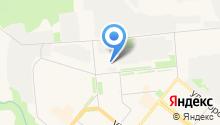 Архангельский ЦБК на карте