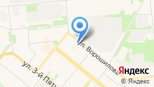 Новодвинская городская станция по борьбе с болезнями животных на карте