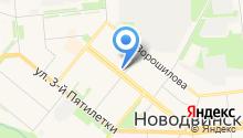 Магазин мяса и колбасных изделий на карте