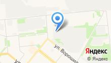 Стандарт Архангельск на карте