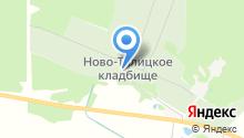 Кладбище на карте