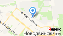 ЭлектроПлюс на карте