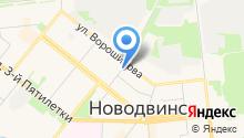 Отдел надзорной деятельности г. Новодвинска на карте