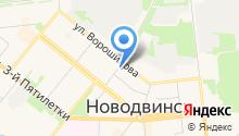 Региональное управление ФСБ РФ по Архангельской области на карте