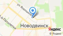 Детский сад №13, Березка на карте
