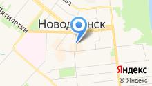 Нотариус Богданова Н.В. на карте