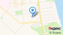 На Двинской на карте