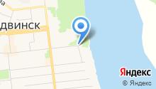 На берегу на карте