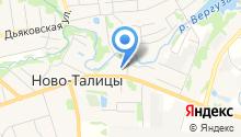 Шалтай-Болтай на карте