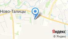 Салтех на карте