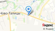 Трейлер на карте