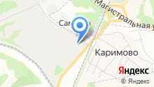 Адищевская бумажная фабрика на карте