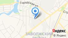 Шины и аккумуляторы на Московской на карте