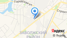Автопортал на Московской на карте