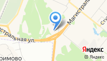 АЗИМУТ Отель Кострома на карте