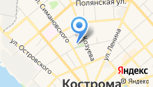 Loza44.ru, центр возрождения на карте