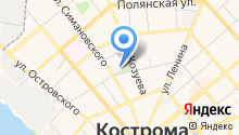 Loza44.ru на карте
