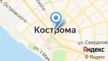 Костромской государственный историко-архитектурный и художественный музей-заповедник на карте