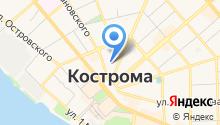 Костромской Бизнес-журнал на карте