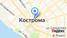 Костромской центр сертификации и мониторинга на карте