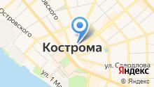 Алюпласт-Кострома на карте