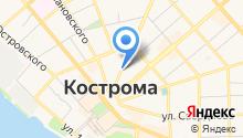 Love radio Кострома, FM 103.1 на карте