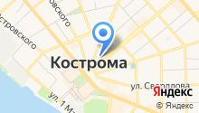 Адвокатские кабинеты Ядовина Н.А., Шутова В.В. и Кунец М.С. на карте