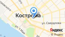 Арго-Кострома на карте