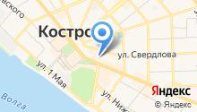 Комитет по физической культуре и спорту Костромской области на карте