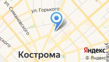Комитет Костромской областной Думы по бюджету, налогам на карте