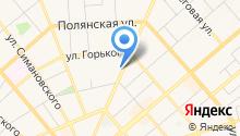 Автосервис на Ленина на карте