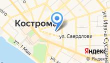 Костромской областной психоневрологический диспансер на карте