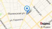 Волга, Газель, Уаз на карте