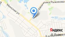 Автомастерская на Минской на карте