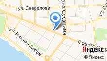 Адвокат Соловьев Н.Г. на карте