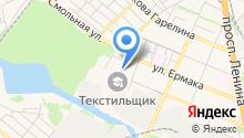 Ярмарка Текстильщик на карте