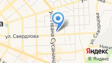 Адвокатские кабинеты Шагабутдиновой И.С., Цветковой Л.В. и Ивановой О.В. на карте