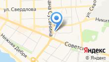 Банкомат, КБ Москомприватбанк на карте