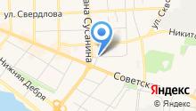 Автозащита на карте
