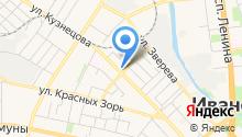 Pro потолки 37 - Натяжные потолки Иваново на карте