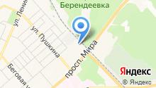 АРТБИС-КОСТРОМА на карте