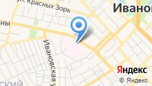 Городская клиническая больница №1 на карте