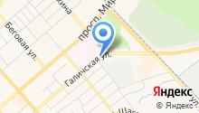 АНИК на карте